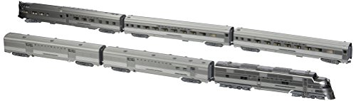 - Kato USA Model Train Products CB&Q EMD E5A Silver Streak Zephyr 6-Unit Set