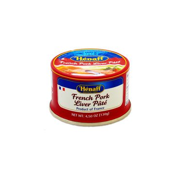 Henaff Pork Liver Pate 4.5 oz (Pack of 2) by Henaff