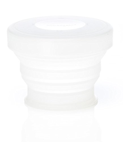 HUMANGEAR GOCUP COLLAPSIBLE TRAVEL CUP MEDIUM 8FLOZ/237ML (CLEAR)   B00920ZIIS