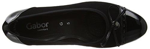 Gabor Damen Comfort Pumps Schwarz (schwarz 47)