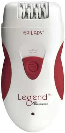 Hair Removal Epilator - Epilady Legend 4th Generation Rechargeable Epilator