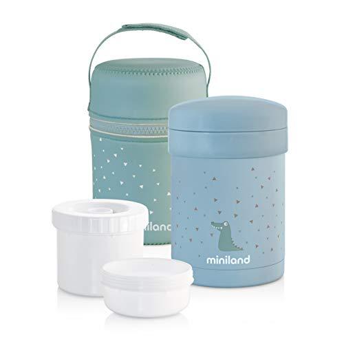 Miniland, Termo Termico, 89226, 700 ml con envases hermeticos
