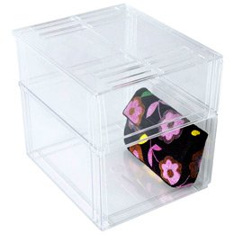 2b35d2782a4a Image Unavailable. Image not available for. Colour: The Container Store Premium  Stacking Sweater Bin