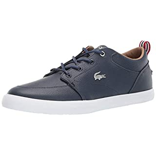 Lacoste Men's Bayliss Sneaker, Navy/White, 13 Medium US