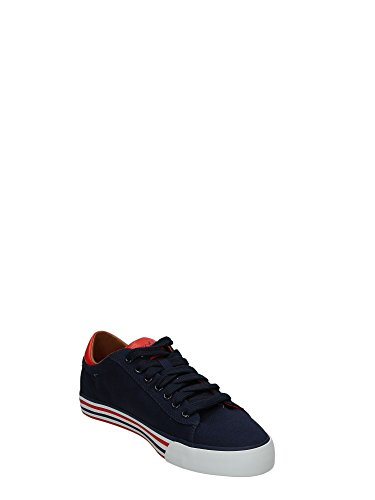 Polo Ralph Lauren - Zapatillas de Deporte de tela Hombre Navy-Rosso