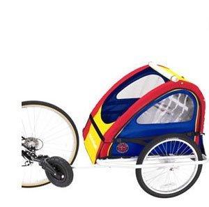 amazon com schwinn aluminum bike trailer stroller toys games rh amazon com Schwinn Bike Trailer Jogger Schwinn Trailer Replacement Parts