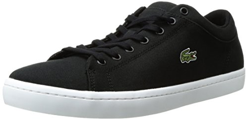 Lacoste Men's Straightset BL 2, Black, 9 M US