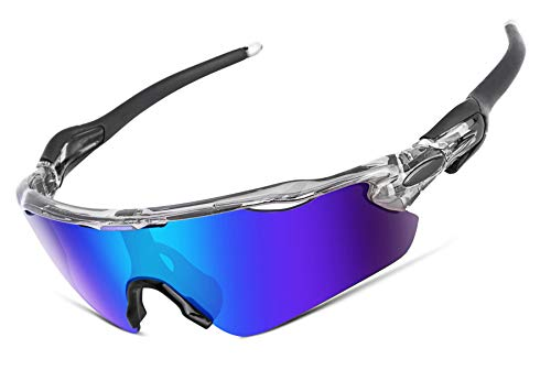Polarized Sports Sunglasses Changeable Lenses TR90 Frame Cycling Running Fishing Golf Glasses B2450
