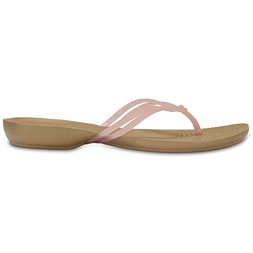 Crocs Donna Isabella Flip Flop Albicocca / Oro