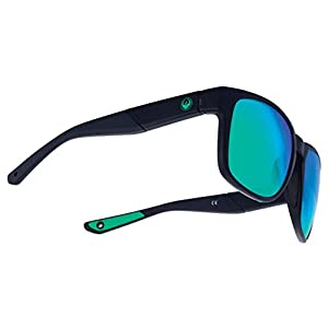 Dragon SeafarerX Sunglasses - Matte Black Frame with Green Ionized Lens