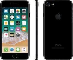 Apple iPhone 7, 128GB - Jet Black (Renewed)