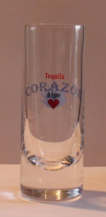 Corazon Tequilla 2oz Promotional Shot Glass