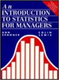 An Introduction to Statistics for Managers/Book and Disk by Ann Spooner (1995-03-30)