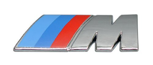 M ABS Chrome Emblem Badge Nameplate Decal for BMW E12 E24 E26 E28 E30 E34 E36 E39 E46 E60 E61 E63 E64 E65 E66 E70 E71 E82 E85 E86 E87 E88 E90 E91 E92 E93 F01 F02 F10 F12 F13 1M M1 M3 M5 M6 M8 X3 X5 X6 Z4 Z8 3 5 7 Series