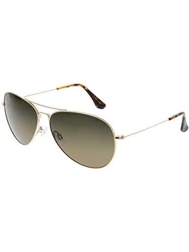 Maui Jim Mavericks Polarized Sunglasses Gold / HCL Bronze On