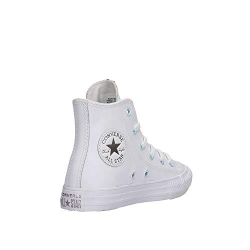 Da white white Multicolore – Ginnastica Scarpe Taylor Chuck metallic 102 Ctas Unisex Converse Hi Basse Bambini Gunmetal znZXqx7