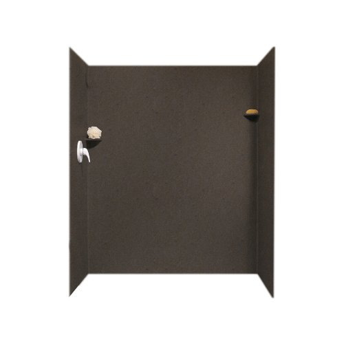 Swanstone SK-346072-124  Solid Surface 3 Panel Shower Sid...