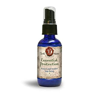 Essential Protection Antiseptic Spray (2 fl oz). Easy-to-Use Version of The Ancient Thieves Oil Formula from Turtle Moon.