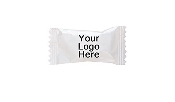 Amazon.com: Individually Wrapped Dessert Mints - 2 Case (1,000 Per Case) - PROMOTIONAL PRODUCT/BRANDED/BULK/CUSTOMIZED W/YOUR LOGO: Kitchen & Dining