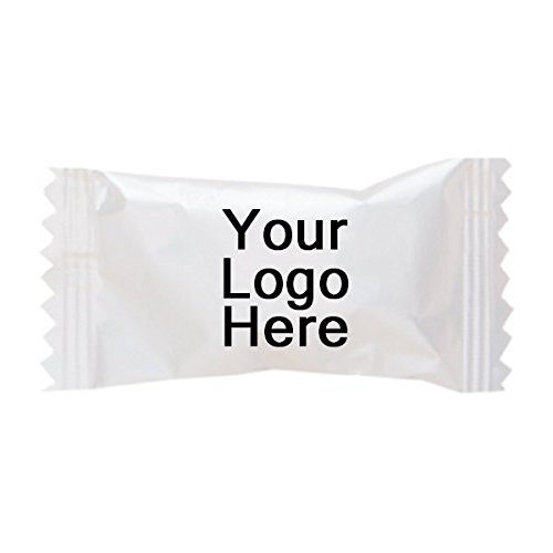 Promotional Candy (Individually Wrapped Dessert Mints - 2 Case - PROMOTIONAL PRODUCT / BRANDED / BULK / CUSTOMIZED W/ YOUR LOGO)
