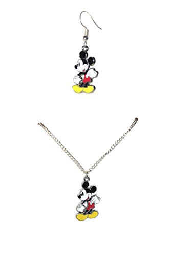 Dangle Disney Earrings (LTI Porter Gallery USA Mickey Mouse 16
