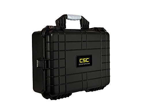 Common Sense Cases 5005 Equipment Hard Case With DIY Foam - Weather Resistant - Black - Internal Dimensions: 18