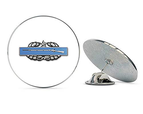"Veteran Pins US Army Combat Infantry Badge 2nd Award Metal 0.75"" Lapel Hat Pin Tie Tack Pinback"