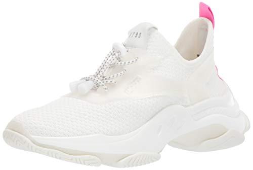 - Steve Madden Women's Myles Sneaker, White, 7 M US