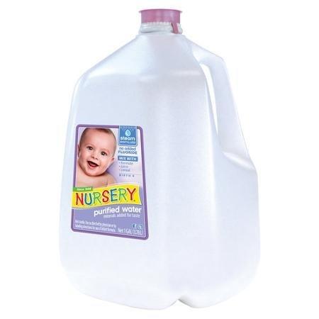 Nursery BCA01541 NuRosery Purified Water, 6 x 128 oz by Nursery (Image #1)