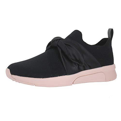 Skechers Modern Jogger Velie Black/Pink Womens Casual Sneaker Size 6M