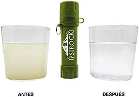 Filtro agua supervivencia accesorios | No necesita pastillas ...