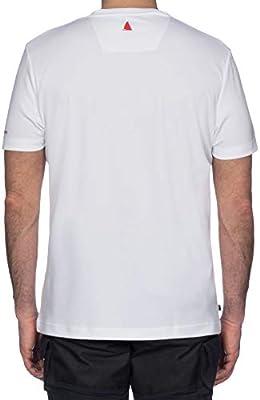Musto para Hombre Sunshield Wicking Permanente UPF30 Camiseta Camiseta Top Blanco - Manga Corta Ligera: Amazon.es: Deportes y aire libre