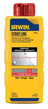 (Irwin Strait Line 64902 8 Oz Red Chalk Refills)