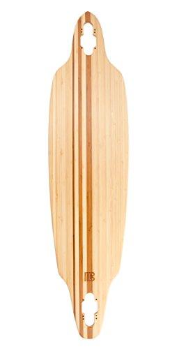Bamboo Skateboards Directional Drop Through Blank Skateboard Deck, 41.13