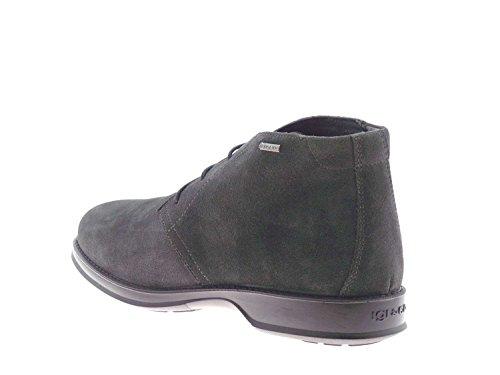 IGI&CO 66811 grigio scarpe uomo polacchini scarponcini gore-tex 42