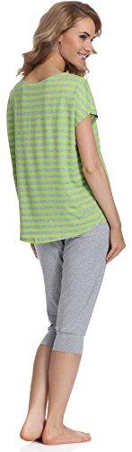 Merry Style Pijama para Mujer MS540 Gris/Lima