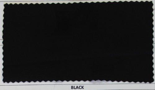4-Way Stretch-Black-Matte Nylon/Spandex Fabric for Swimwear, Gymnastics, Dance - Swimwear Fabric Black