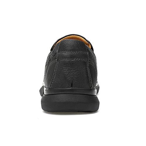 Shuo De Cricket Taille Slip Chaussures 42 Hommes Pour On Oxford chaussures Eu Style Casual Noir color Business Noir Lan rw7rxZqP