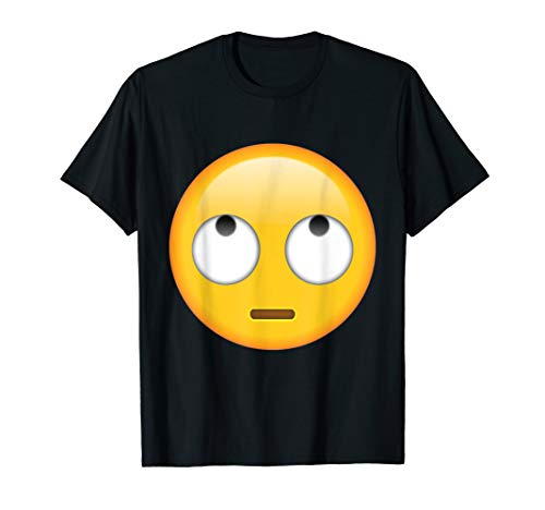 Emoji Face with Rolling Eyes T Shirt