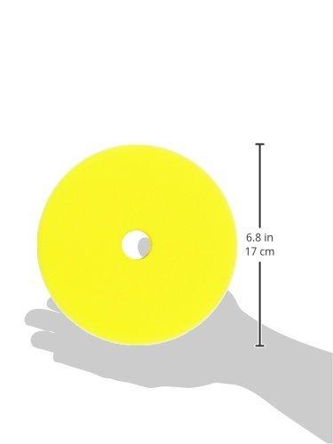 ALCLEAR Set of 2 dischetti per lucidatura Medio per Macchine RUPES per Un Systema Disco /Ø 163//150 x 30 mm Giallo