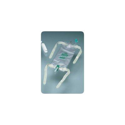 57150432BX - Dispoz-a-Bag Leg Bag with Flip-Flo Valve, 32 oz. (4 leg bags 1 pair fabric leg straps)