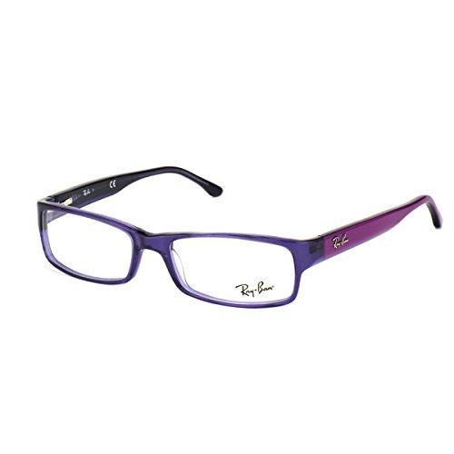 Ray Ban RX5114 Eyeglasses-5230 Trasparent Violet-52mm