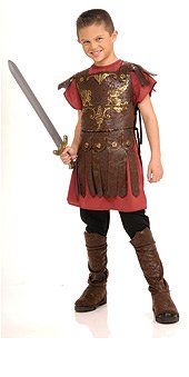 Childs Roman Toga Costume (Gladiator Child Costume)