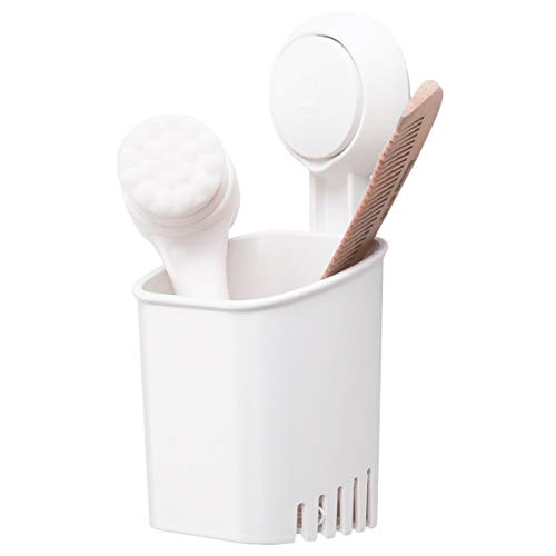 TAILI Suction Cup Toothbrush Holder Drill-Free Wall Mounted Electric Toothbrush, Toothpaste and Razors Holder for Bathroom Shower, Tableware Holder for Kitchen