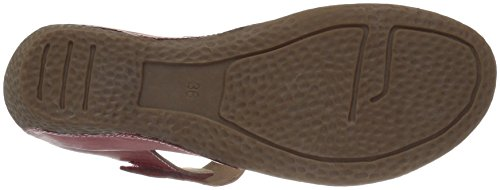 Lartiste Di Spring Step Womens Gloss Mary Jane Flat Red