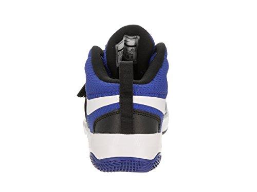 Nike Kinderen Voorschoolse Team Drukte D 8 Basketbalschoenen Spel Royal / Wit / Zwart