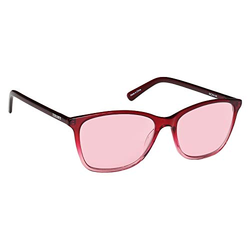 Migraine Glasses for Migraine Relief and Light Sensitivity Relief - Terramed Audrey Unisex Migraine Glasses Women or Men | Fl-41 Migraine Glasses for Computers Indoor Reading Photophobia Eye Strain (Tinted Bronze Lens)