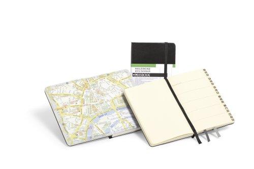 Moleskine City Notebook - Moscow, Pocket, Black, Hard Cover (3.5 x 5.5) by Moleskine (Image #2)