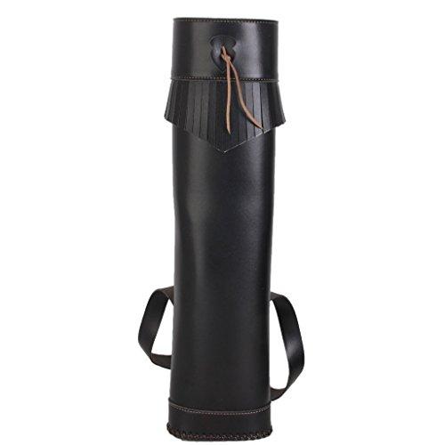 Pfeil Köcher Rückenköcher BOGENSCHIESSEN Bögen Kasten Tasche PU-Leder