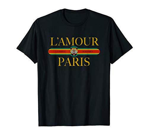 (L'Amour Tee Shirt L' Amour Paris T-shirts I Love Paris Shirt)